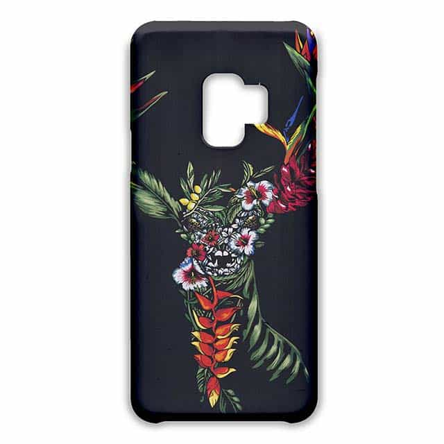 Tropical Deer Galaxy S9ケース