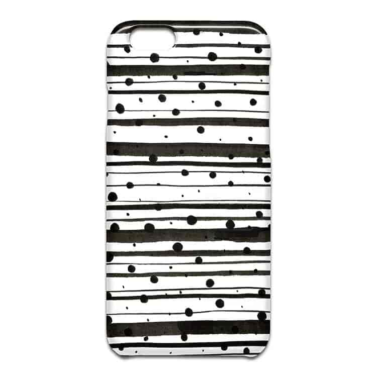 Dots and Lines iPhone SEケース