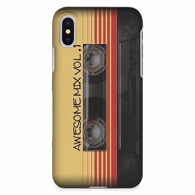 Awesome Mix Vol 1 iPhone XRケース