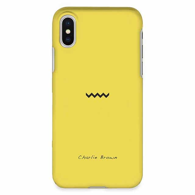 Charlie Brown iPhone XSケース