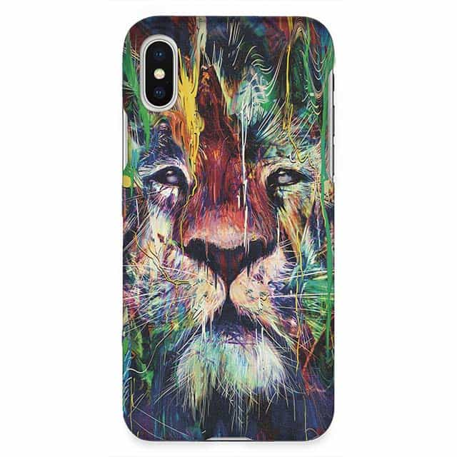 Lion iPhone XSケース