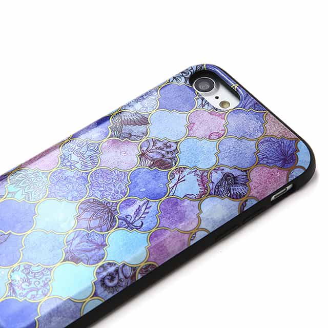 Royal Purple Mauve and Indigo Decorative スマホケース2