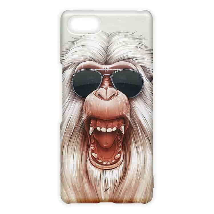 "The Great White Angry Monkey (""Prisoners"" ) Xperia Aceケース"