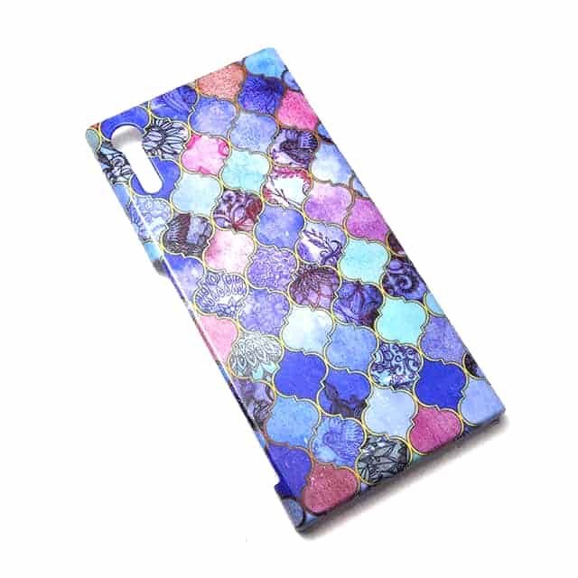 Royal Purple Mauve and Indigo Decorative Xperia XZケース