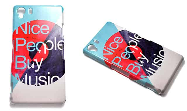 Nice People Buy Music Xperia Z1ケース